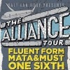 alliance tour flyer postsize