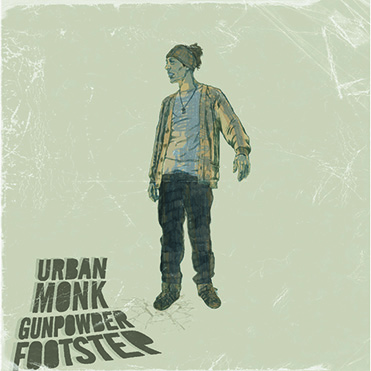 URBAN MONK - Gunpowder Footstep (CD)