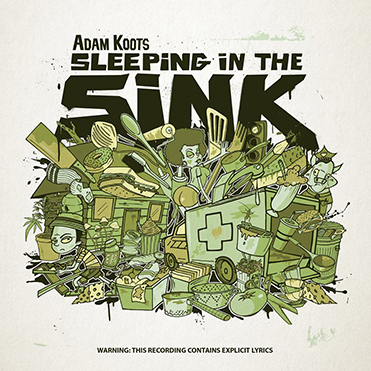ADAM KOOTS - Sleeping In the Sink (LP)