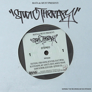 MATA & MUST PRESENT - Studio Therapy (CD)